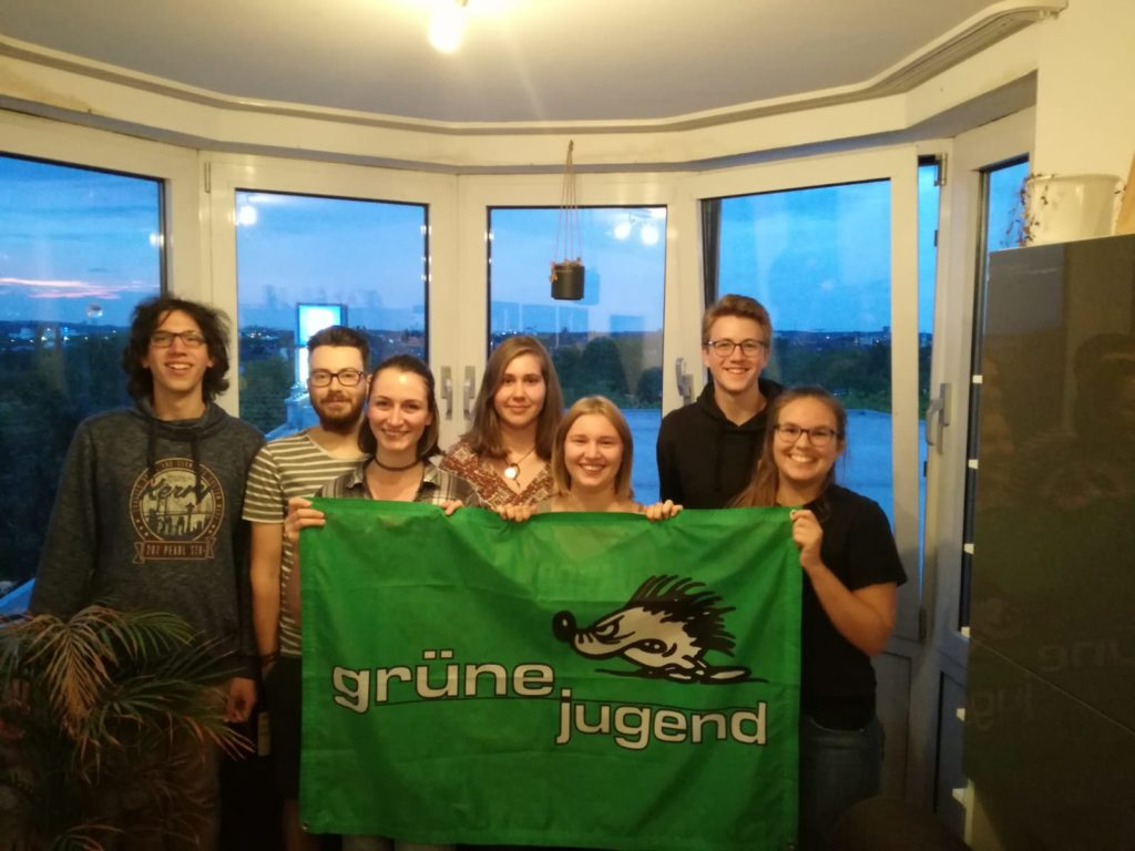Vorstand der Grünen Jugend Dortmund